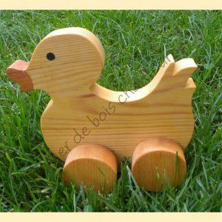 Canard à roulettes