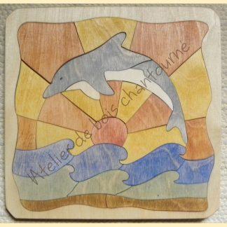 Puzzle dauphin