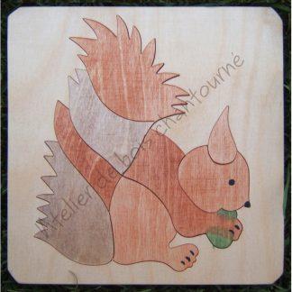 Puzzle écureuil