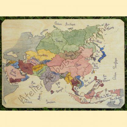 Puzzle Asie