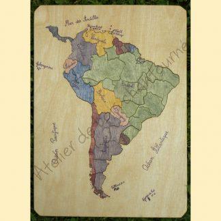 Puzzle Amérique du Sud