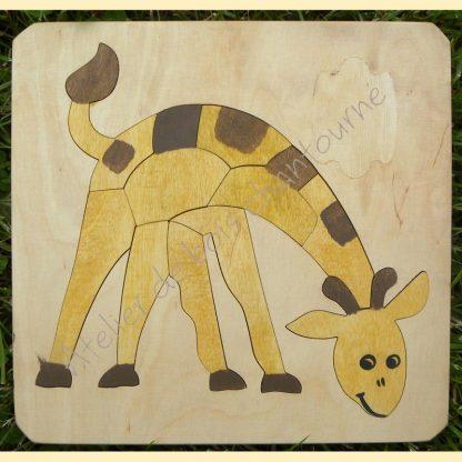 Puzzle girafe