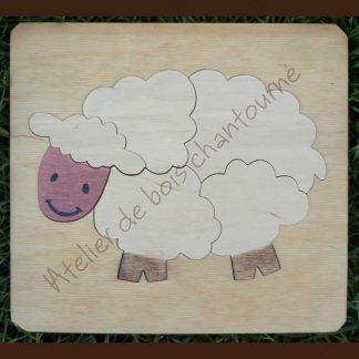 Puzzle mouton