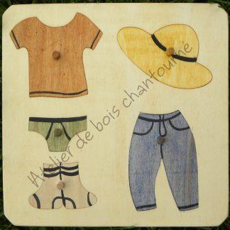Puzzle vêtements