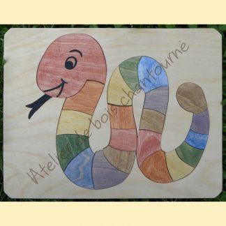 Puzzle serpent