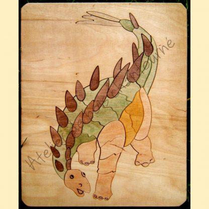 Puzzle stégosaure