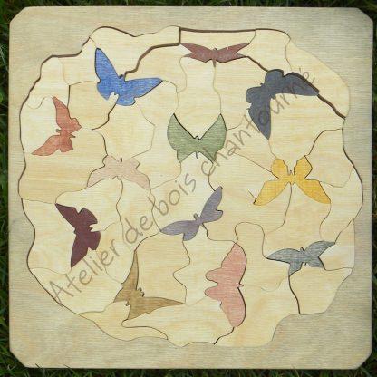 Puzzle vol de papillons