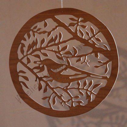 Branche et oiseau