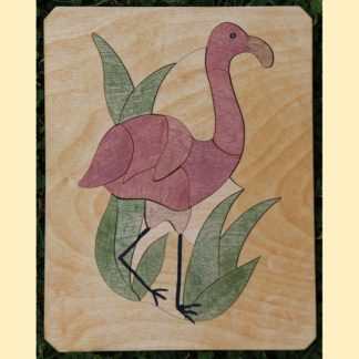Puzzle flamant rose