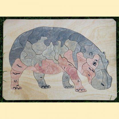 Puzzle hippopotame