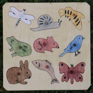 Puzzle animaux des champs