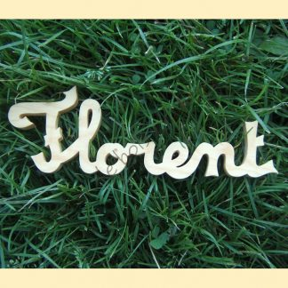 Prénom lettres cursives