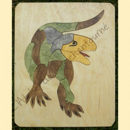 Puzzle tyranosaure