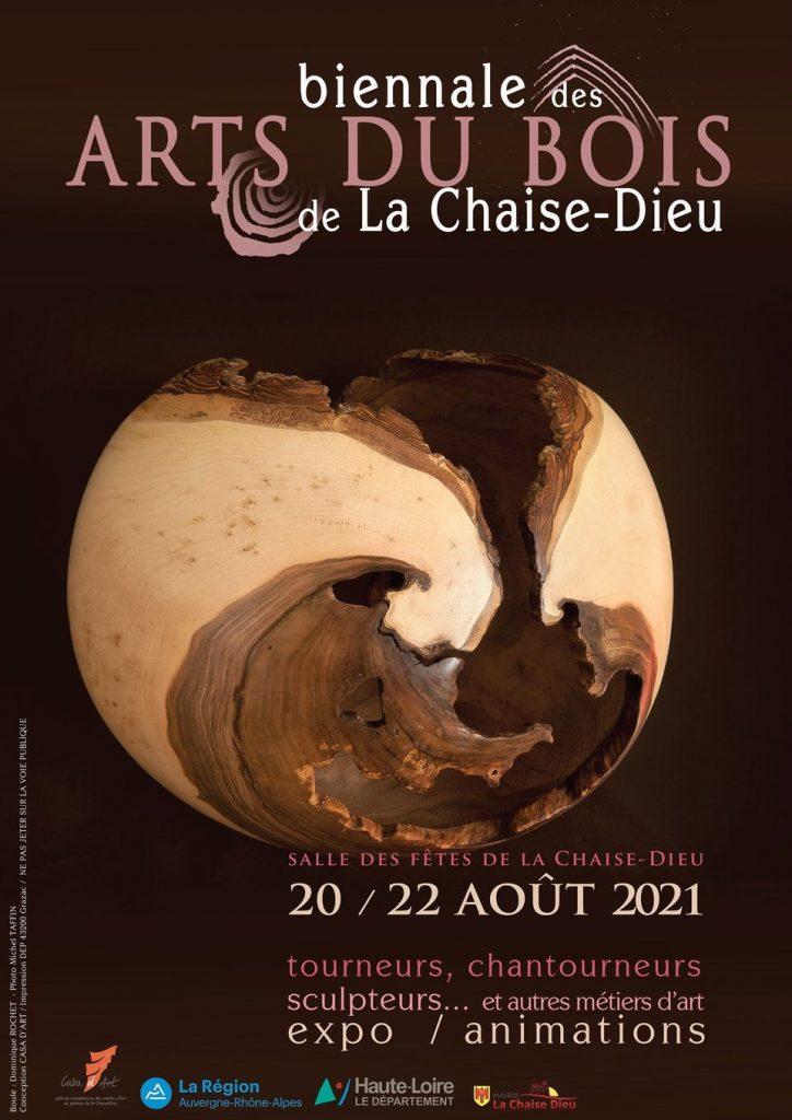 Biennale des arts du bois - La Chaise-Dieu - 20 au 22 août 2021